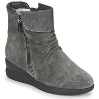 Boty Ženy Kotníkové boty Damart 64305 Šedá
