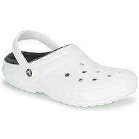 Boty Pantofle Crocs CLASSIC LINED CLOG Bílá