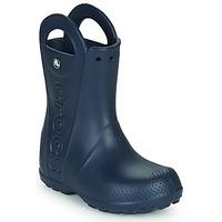 Boty Děti Holínky Crocs HANDLE IT RAIN BOOT Námořnická modř
