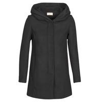 Textil Ženy Kabáty Moony Mood PANTE Černá