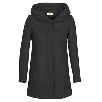 Textil Ženy Kabáty Moony Mood NANTE Černá