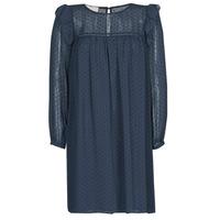 Textil Ženy Krátké šaty Moony Mood BREYAT Tmavě modrá