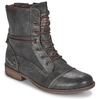 Boty Ženy Kotníkové boty Mustang 1157508 Šedá