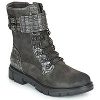 Boty Ženy Kotníkové boty Mustang 1333507 Šedá