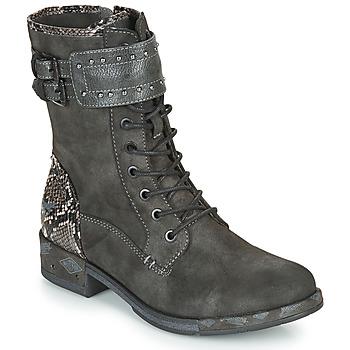 Boty Ženy Kotníkové boty Mustang 1332506 Šedá
