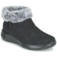 Boty Ženy Kotníkové boty Skechers ON-THE-GO JOY Černá