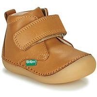 Boty Děti Kotníkové boty Kickers SABIO Velbloudí hnědá