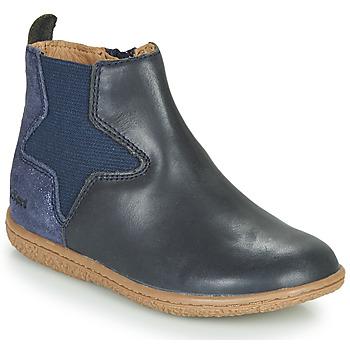 Boty Dívčí Kotníkové boty Kickers VERMILLON Tmavě modrá