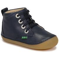 Boty Děti Kotníkové boty Kickers SONIZA Tmavě modrá