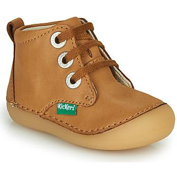 Boty Děti Kotníkové boty Kickers SONIZA Velbloudí hnědá