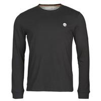 Textil Muži Trička s dlouhými rukávy Timberland LS Dunstan River Tee Černá