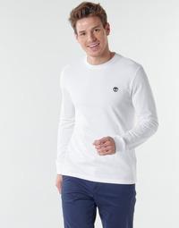 Textil Muži Trička s dlouhými rukávy Timberland LS Dunstan River Tee Bílá