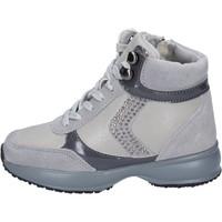 Boty Dívčí Nízké tenisky Lumberjack sneakers camoscio pelle sintetica Grigio