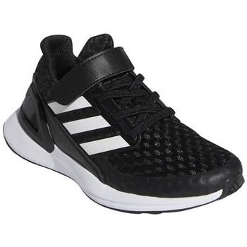 Boty Děti Běžecké / Krosové boty adidas Originals Rapidarun Bílé, Černé