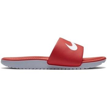 Boty Děti pantofle Nike Kawa Slide Gsps Červené