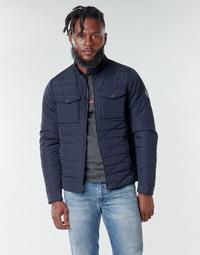 Textil Muži Prošívané bundy Teddy Smith B-JEFFER Tmavě modrá