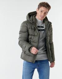 Textil Muži Prošívané bundy Teddy Smith B-OVER Khaki
