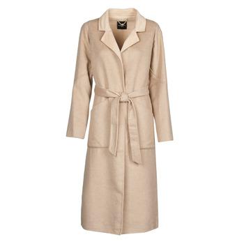 Textil Ženy Kabáty Marciano DAIMON COAT Béžová