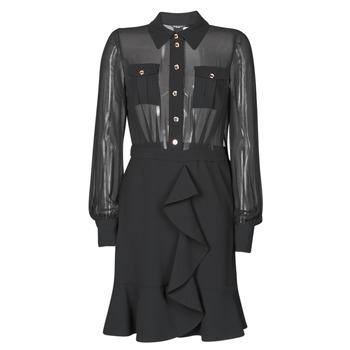 Textil Ženy Krátké šaty Marciano CAROL SHORT DRESS Černá