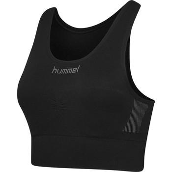 Spodní prádlo Ženy Sportovní podprsenky Hummel Brassière femme  Seamless noir