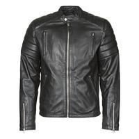 Textil Muži Kožené bundy / imitace kůže Schott LC FUEL Černá