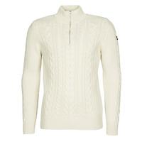 Textil Muži Svetry Schott PL BRUCE2 Krémově bílá
