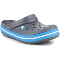 Boty Muži Dřeváky Crocs Crocband  11016-07W grey