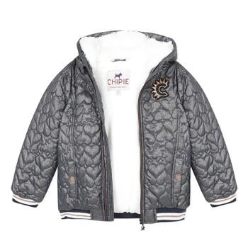 Textil Dívčí Bundy Chipie 8R41014-46 Šedá