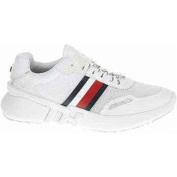 Boty Ženy Nízké tenisky Tommy Hilfiger Dámská obuv  FW0FW04700 YBS white Bílá