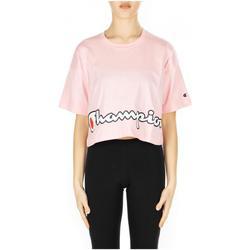 Textil Ženy Trička s krátkým rukávem Champion CREWNECK T-SHIRT ps024-cnp