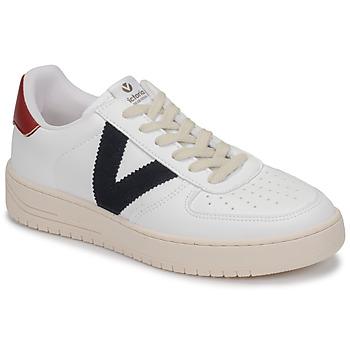 Boty Nízké tenisky Victoria SIEMPRE PIEL VEG Bílá / Modrá / Červená