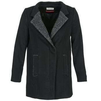 Textil Ženy Kabáty Naf Naf ALEXIA Černá