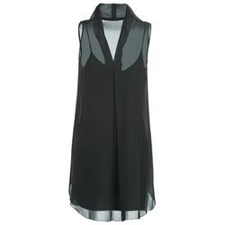 Textil Ženy Krátké šaty Naf Naf E-LALY Černá