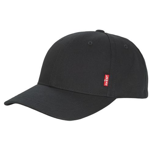 Textilní doplňky Muži Kšiltovky Levi's CLASSIC TWILL REDL CAP Černá