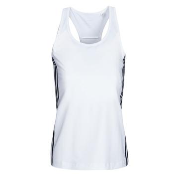 Textil Ženy Tílka / Trička bez rukávů  adidas Performance W D2M 3S TANK Bílá
