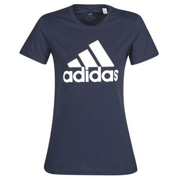 Textil Ženy Trička s krátkým rukávem adidas Performance W BOS CO TEE Modrá