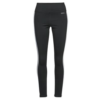 Textil Ženy Legíny adidas Performance W D2M 3S HR LT Černá