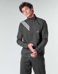 Textil Muži Mikiny adidas Performance OWN THE RUN JKT Černá