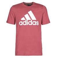 Textil Muži Trička s krátkým rukávem adidas Performance MH BOS Tee Červená
