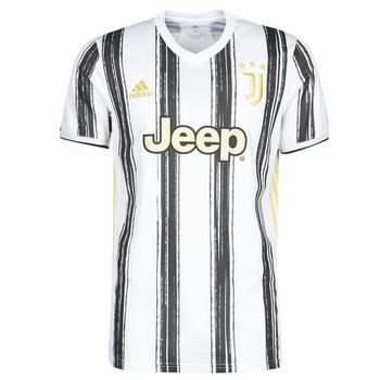 Textil Trička s krátkým rukávem adidas Performance JUVE H JSY Bílá / Černá