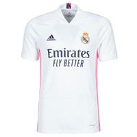 Textil Trička s krátkým rukávem adidas Performance REAL H JSY Bílá