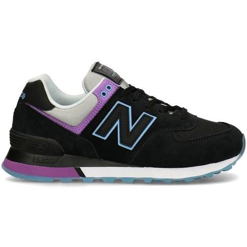 Boty Ženy Nízké tenisky New Balance 574 Černé, Fialové