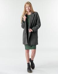 Textil Ženy Kabáty Petrol Industries JACKET WOOL Šedá