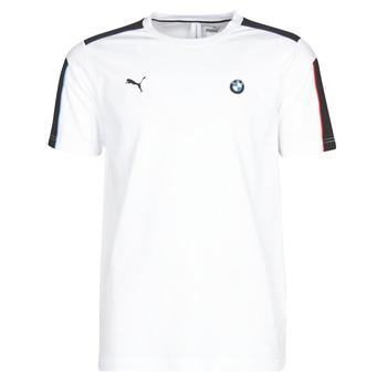 Textil Muži Trička s krátkým rukávem Puma BMW MMS MS T7 TEE Bílá