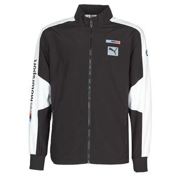 Textil Muži Teplákové bundy Puma BMW MMS WVN JACKET F Černá / Šedá / Bílá