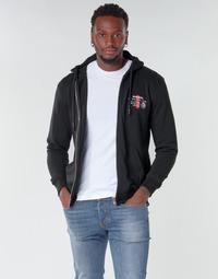 Textil Muži Mikiny Diesel BRANDON Černá