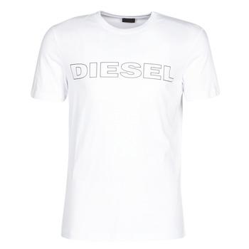 Textil Muži Trička s krátkým rukávem Diesel JAKE Bílá