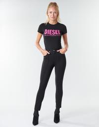 Textil Ženy Kapsáčové kalhoty Diesel P-CUPERY Černá