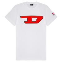 Textil Děti Trička s krátkým rukávem Diesel TJUSTDIVISION Bílá