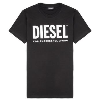 Textil Děti Trička s krátkým rukávem Diesel TJUSTLOGO Černá